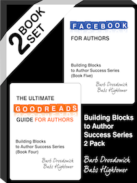 Goodreads and Facebook!